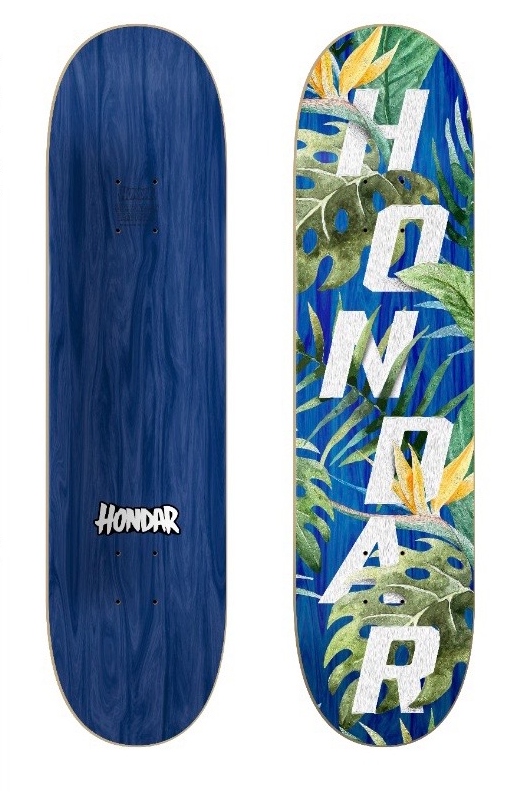 #13 Tropical Hondar Deck