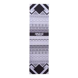 #13 Black White Tribal Grip Tape