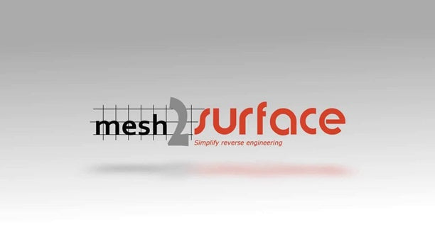 mesh2surface reverse engineering plug-in for Rhino 3D CAD modeling software