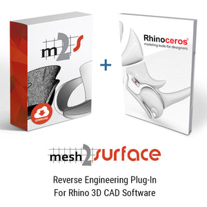 Rhino and Mesh2Surface: Low Cost Scan to CAD Bundle Package