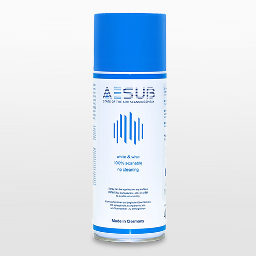 Aesub Blue Self-Vanishing 3D Scanning Spray
