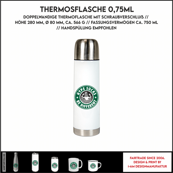 hype thermosflasche
