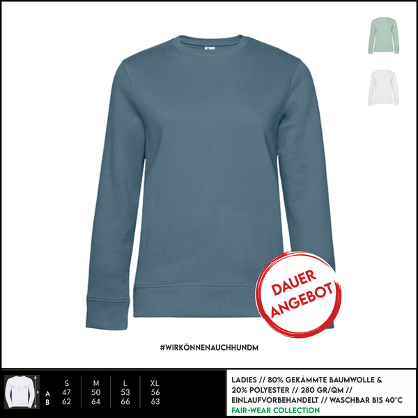 sweatshirt relaxed fit, ladies