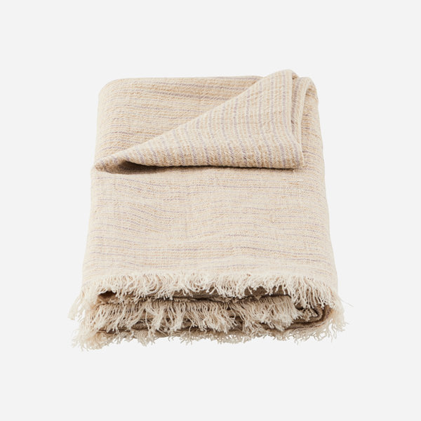 Sand Plaid - Kapra Cool Throw - Artysan