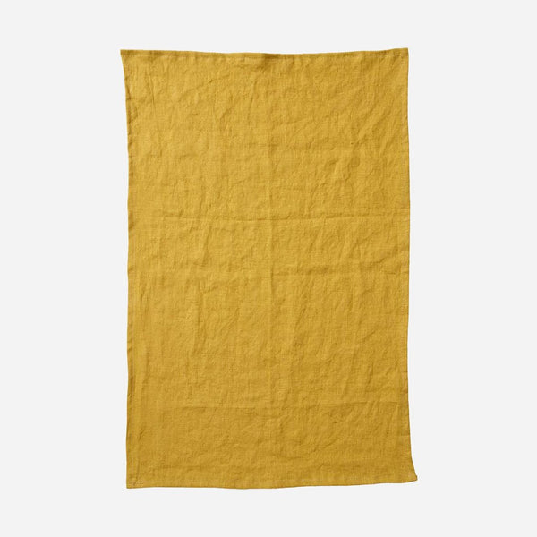 Linn Kitchen Towel - Mustard - Artysan