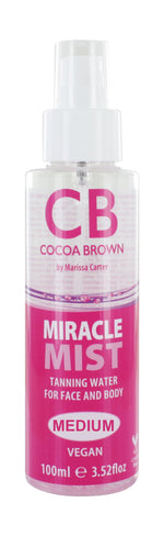 Miracle Mist Tanning Water for Face and Body - Medium
