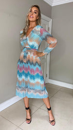 Barbra Faded Print - Dress