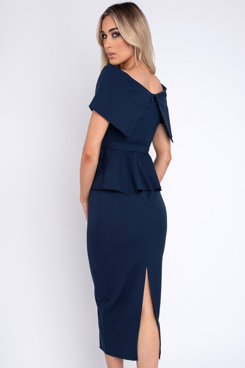 Shannon Navy Dress