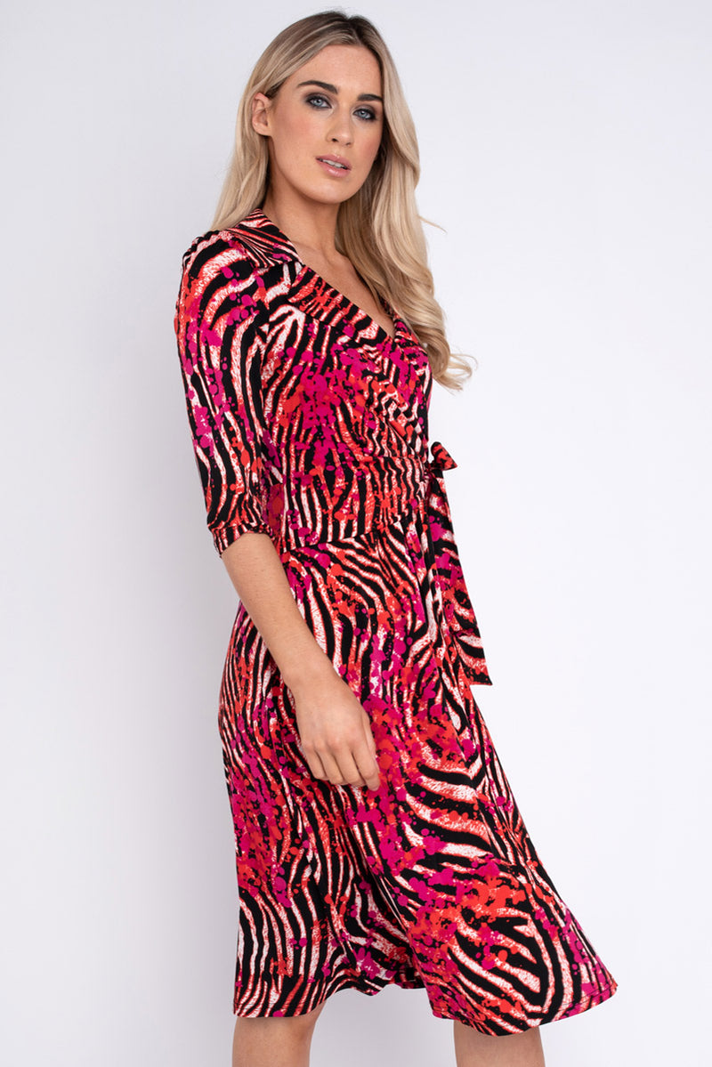 Dominica Tiger Print Dress