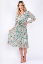 Nora Floral Print (Green)