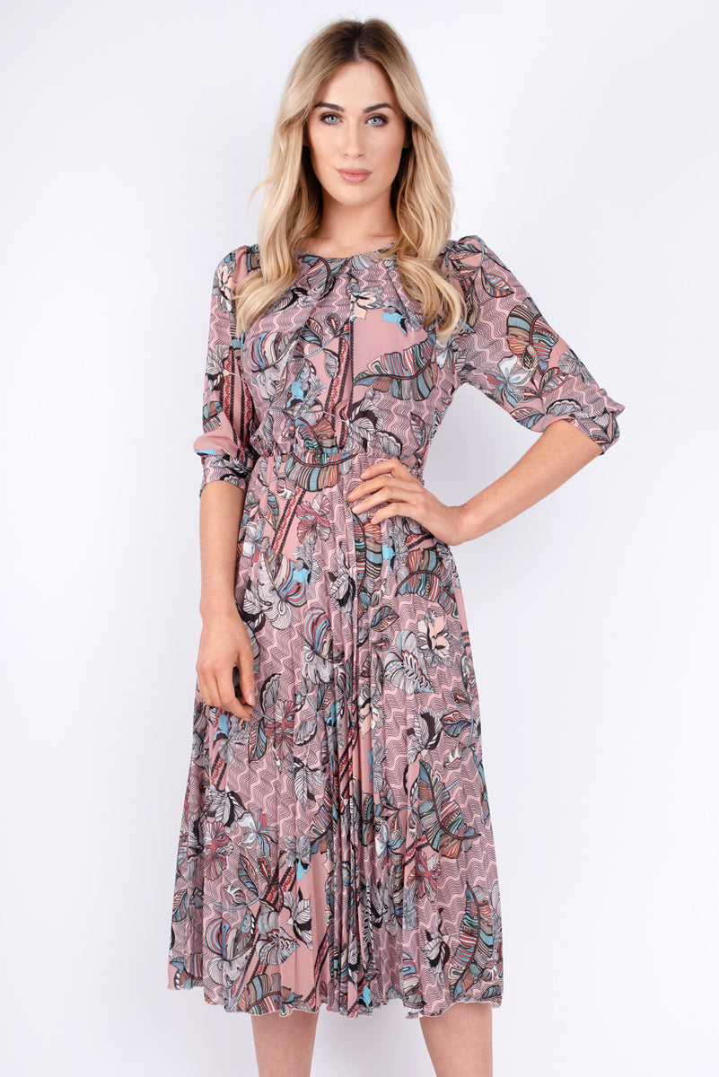 Elly Printed Dress