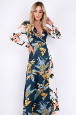 Sasha Floral Wrap Dress