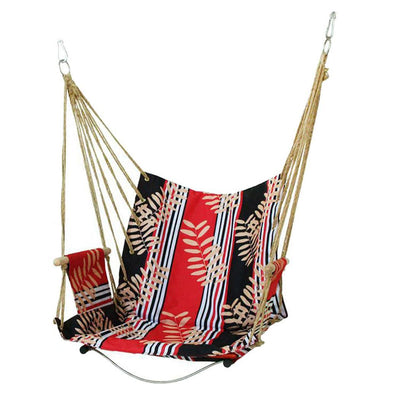 Home Dormitory Hammock Chair Hanging Chair All Season Outdoor, Outdoor Garden Swing Print 1 Person Chair Seat