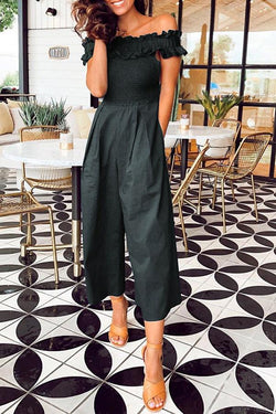 Sexy Off Shoulder Jumpsuit