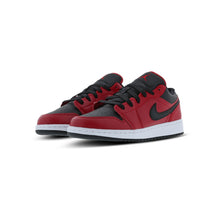 Load image into Gallery viewer, Jordan 1 Low Gym Red Black Pebbled (GS)