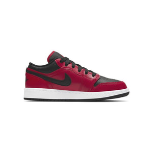 Jordan 1 Low Gym Red Black Pebbled (GS)