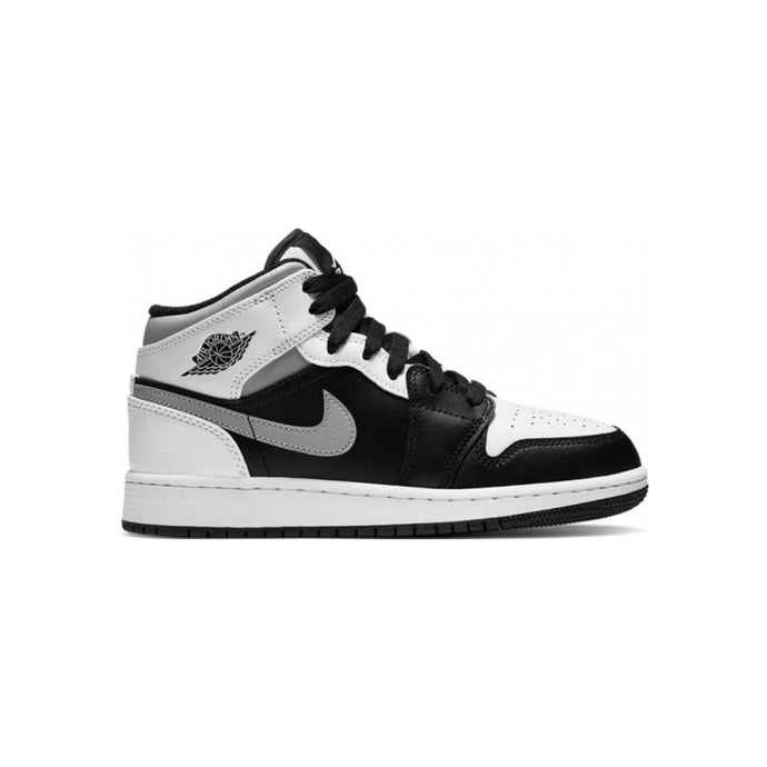 Jordan 1 Mid Black Smoke Grey