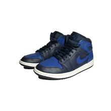 Load image into Gallery viewer, Jordan 1 Mid Obsidian Game Royal