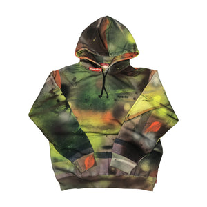 Supreme Rammellzee Hooded Sweatshirt Multicolor