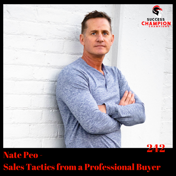 Nate Peo - Sales Tactics from a Professional Buyer