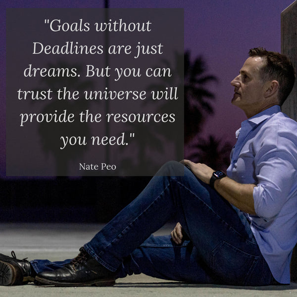 Goals without Deadlines are just dreams.
