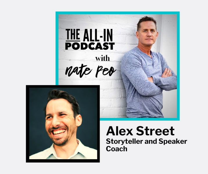 Alex Street - Storyteller & Speaker Coach