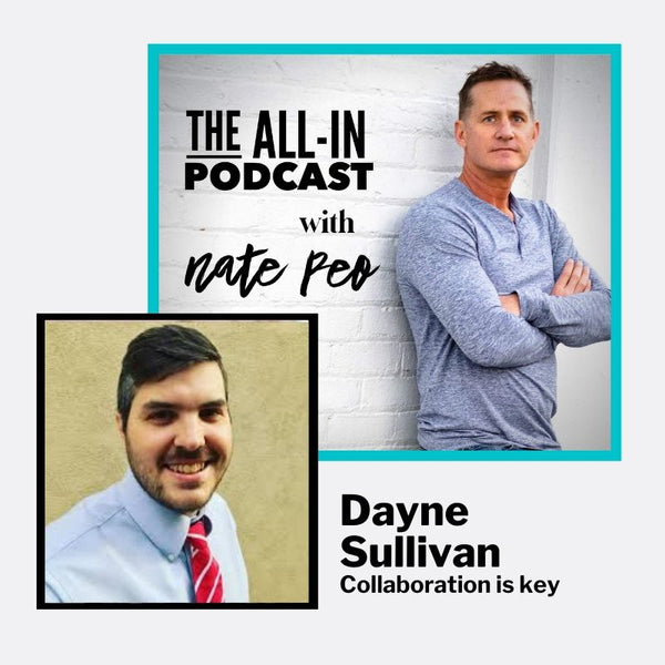 Dayne Sullivan - collaboration is key