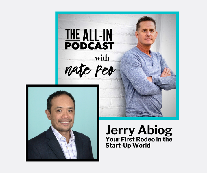 Jerry Abiog - Your First Rodeo in the Start-Up World
