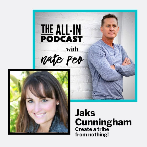 Jaks Cunningham - creating a tribe from nothing