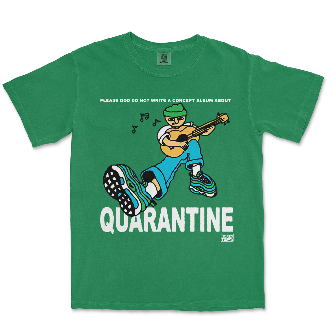 QUARANTINE ALBUM TEE