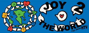 JOY 2 BUMPER STICKER