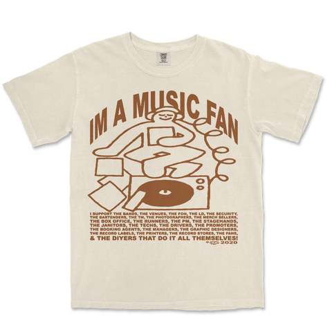 IM A MUSIC FAN TEE