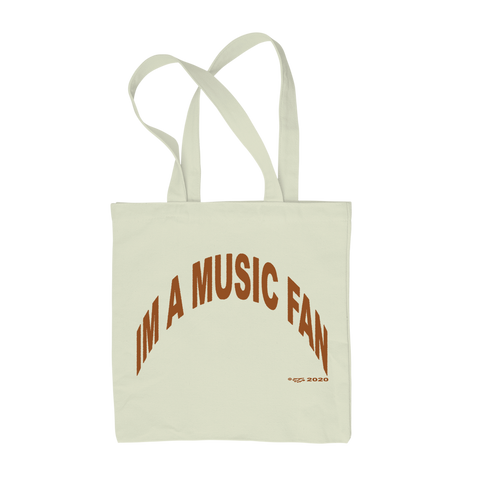 IM A MUSIC FAN TOTE