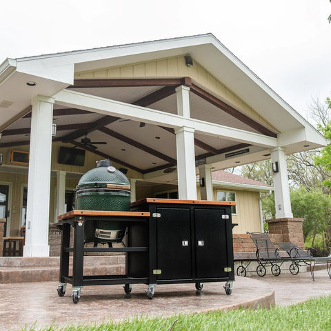 Big Green Egg Cart