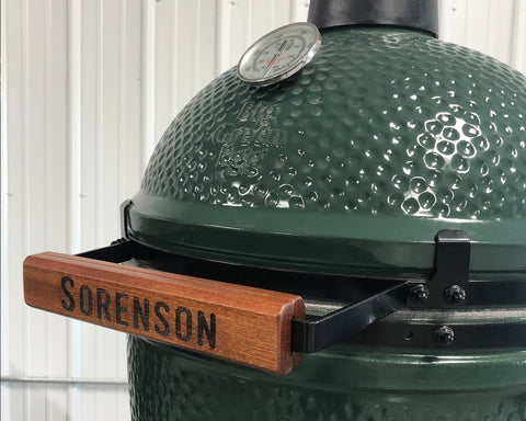 Custom Big Green Egg Handle