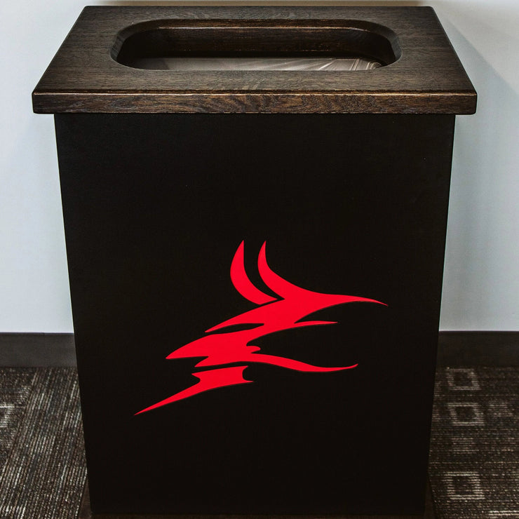 Custom Logo Trash Can