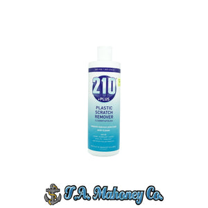 210 +Plus Plastic Scratch Remover Cleaner & Polish 15oz.