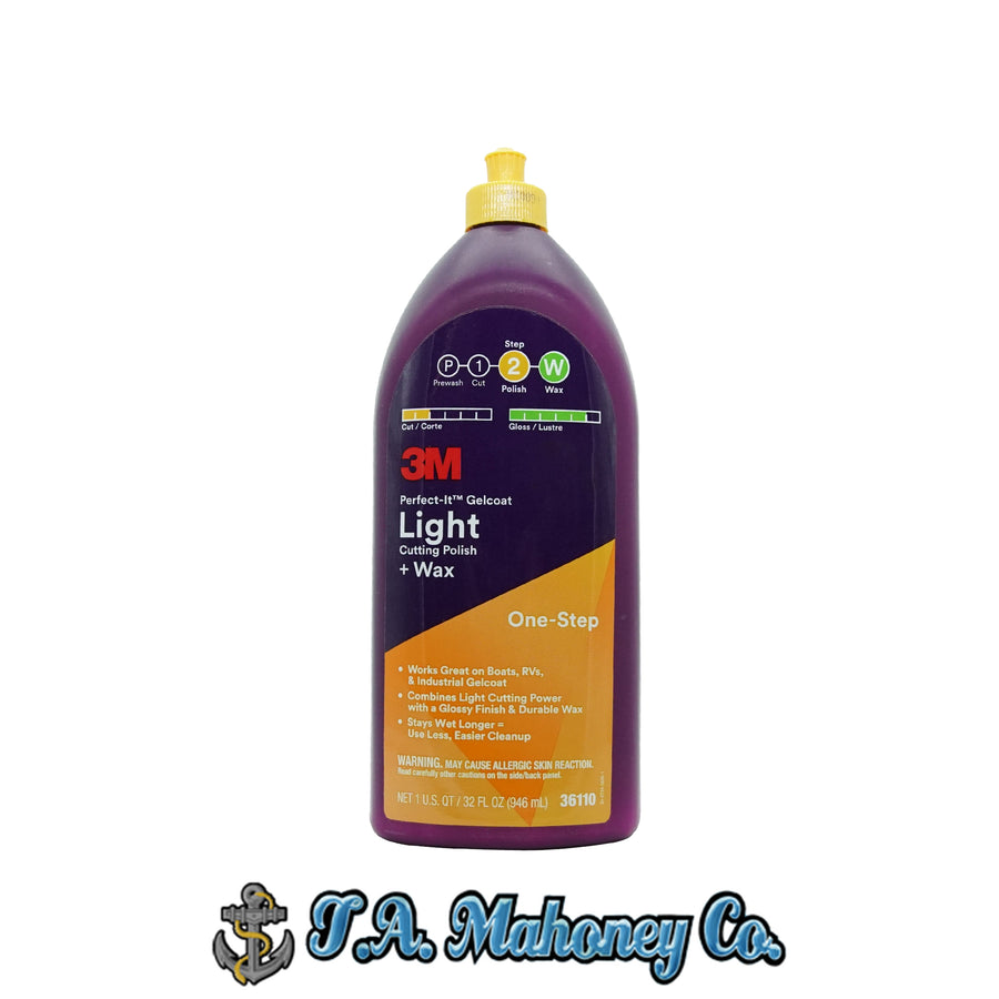 3M Perfect-It Light Cutting Polish + Wax 32oz.