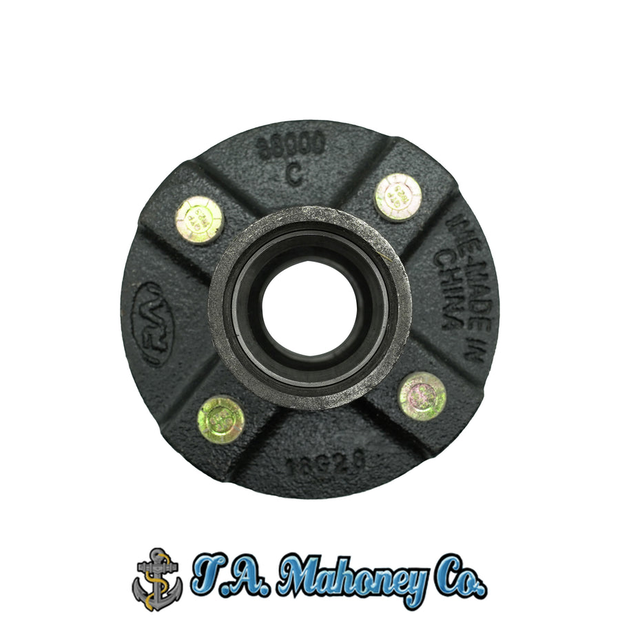 4 Lug Hub Only Straight Spindle