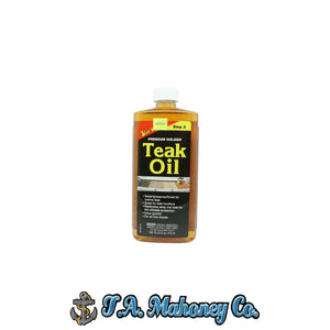 Starbrite Premium Golden Teak Oil 16oz.