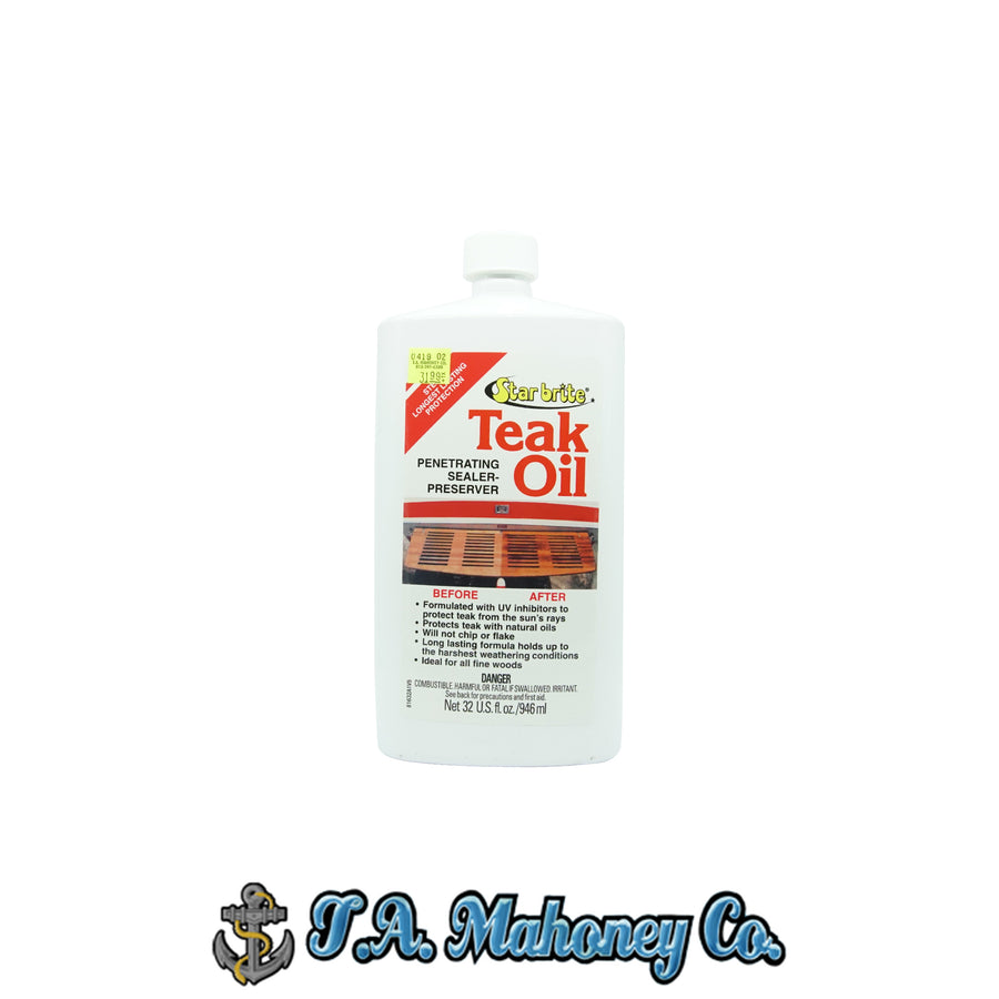 Starbrite Teak Oil Penetrating Sealer-Preserver 32oz.