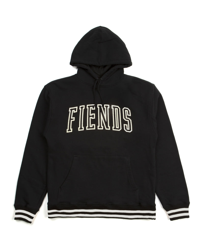 THE BLACK AND WHITE NEIGHBORHOOD FIENDS HOODIE