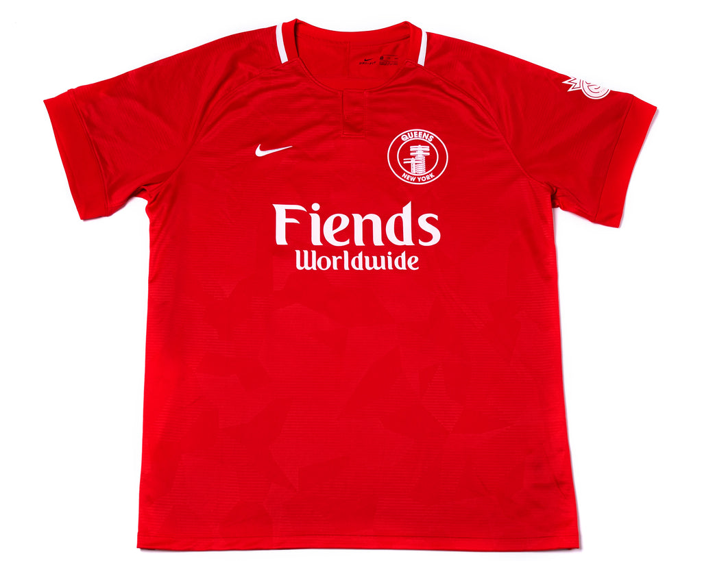 FIENDS WORLDWIDE JERSEY - RED