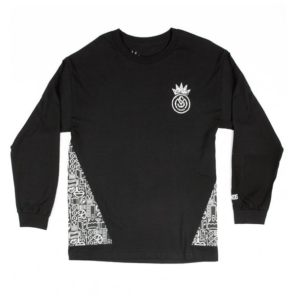 THE SMF EVERYDAY LONG SLEEVE TEE