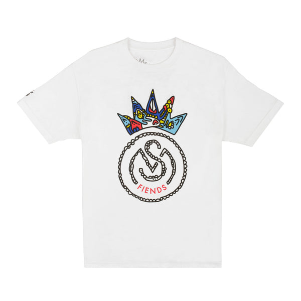 THE WHITE SMF PLAYOFF TEE