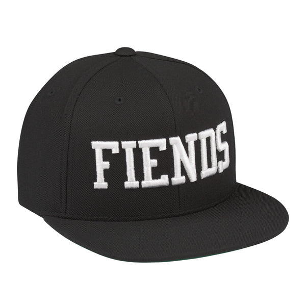 THE BLACK AND WHITE FIENDS SNAPBACK