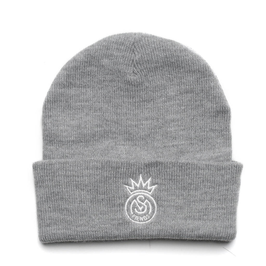 THE GREY FIENDS BEANIE