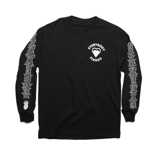 THE BACK IN THE TOWN LONG SLEEVE TEE