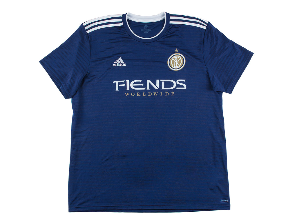 THE FIENDS WORLDWIDE JERSEY -  NAVY