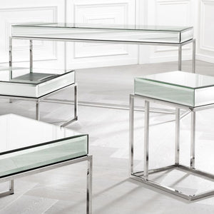 Beverley Hills Mirrored Console Table